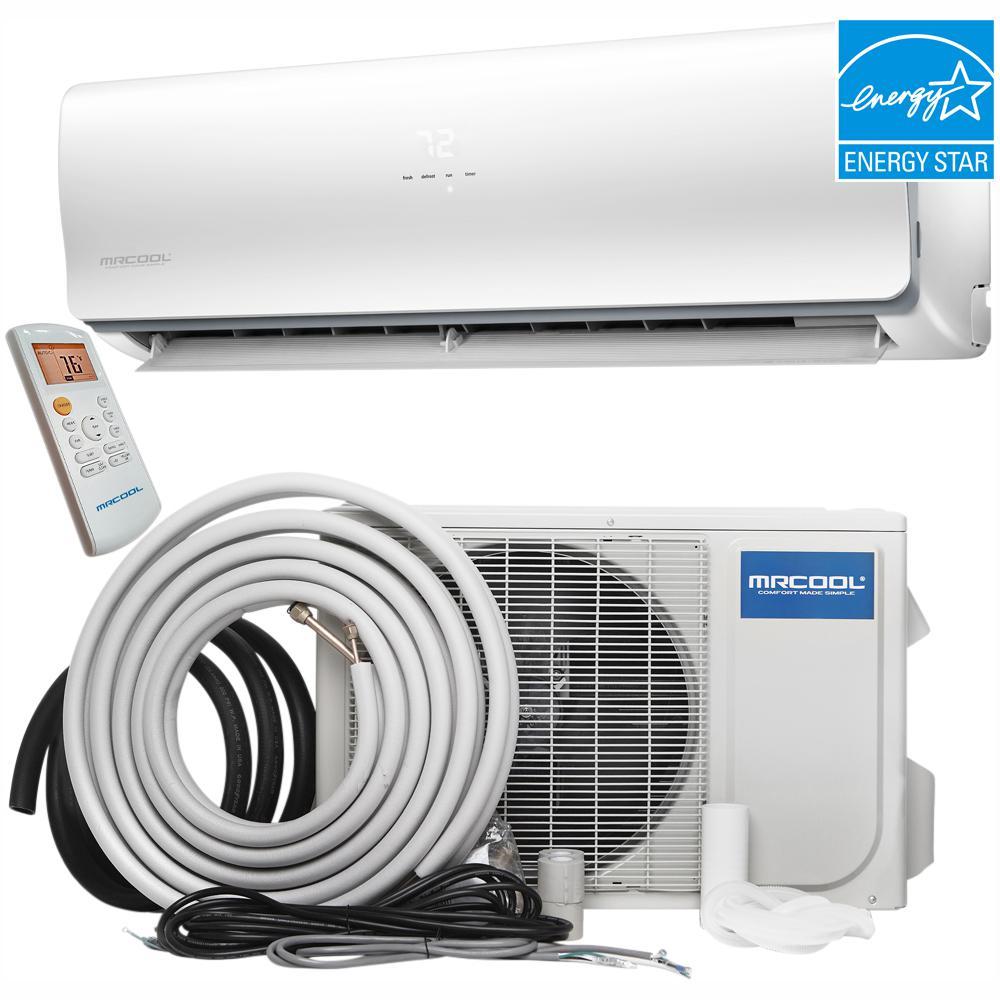 MRCOOL Oasis Hyper Heat 24000 BTU Ductless Mini Split Air Conditioner and  Heat Pump - 230V
