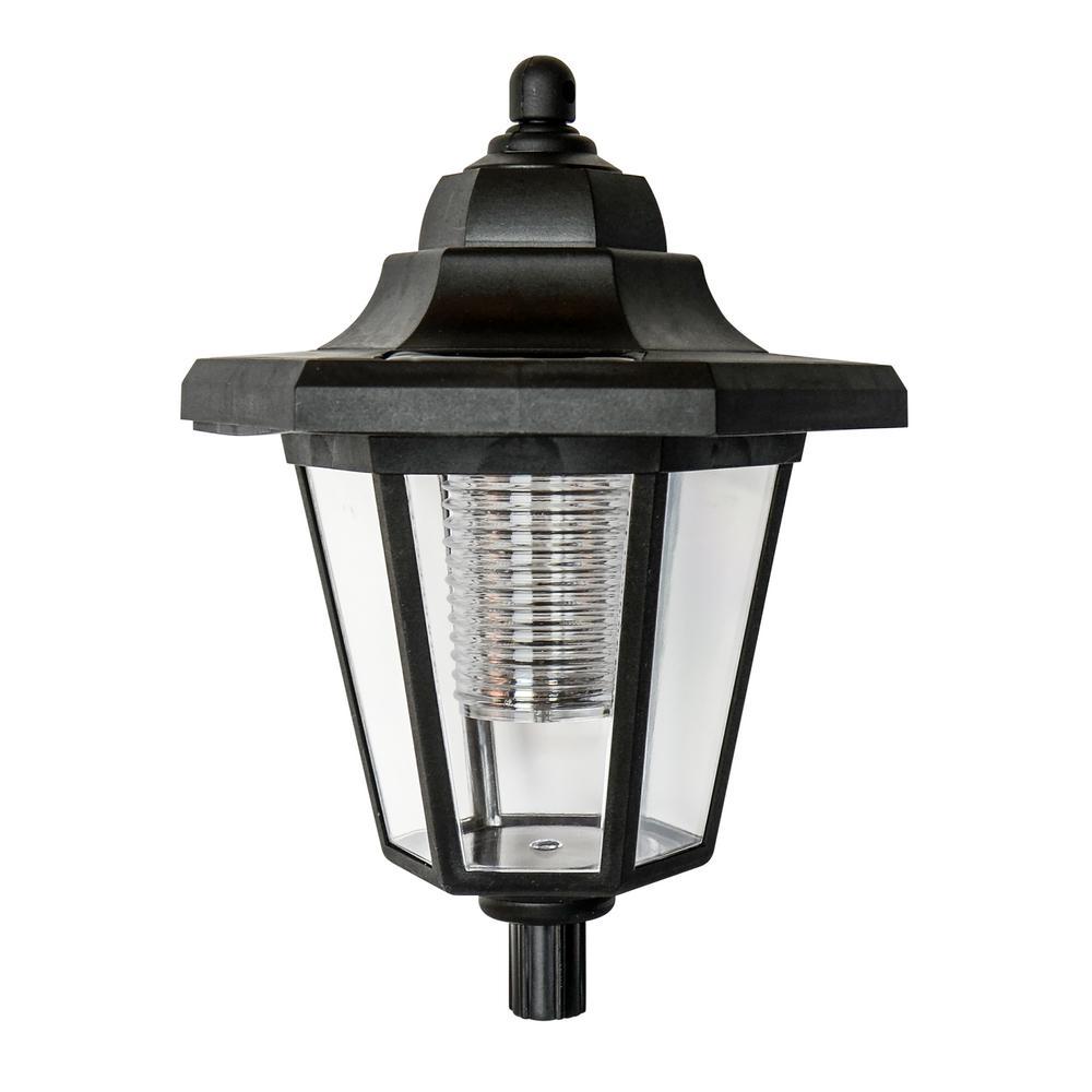 4 in. x 4 in. Solar LED Plastic Lantern Top