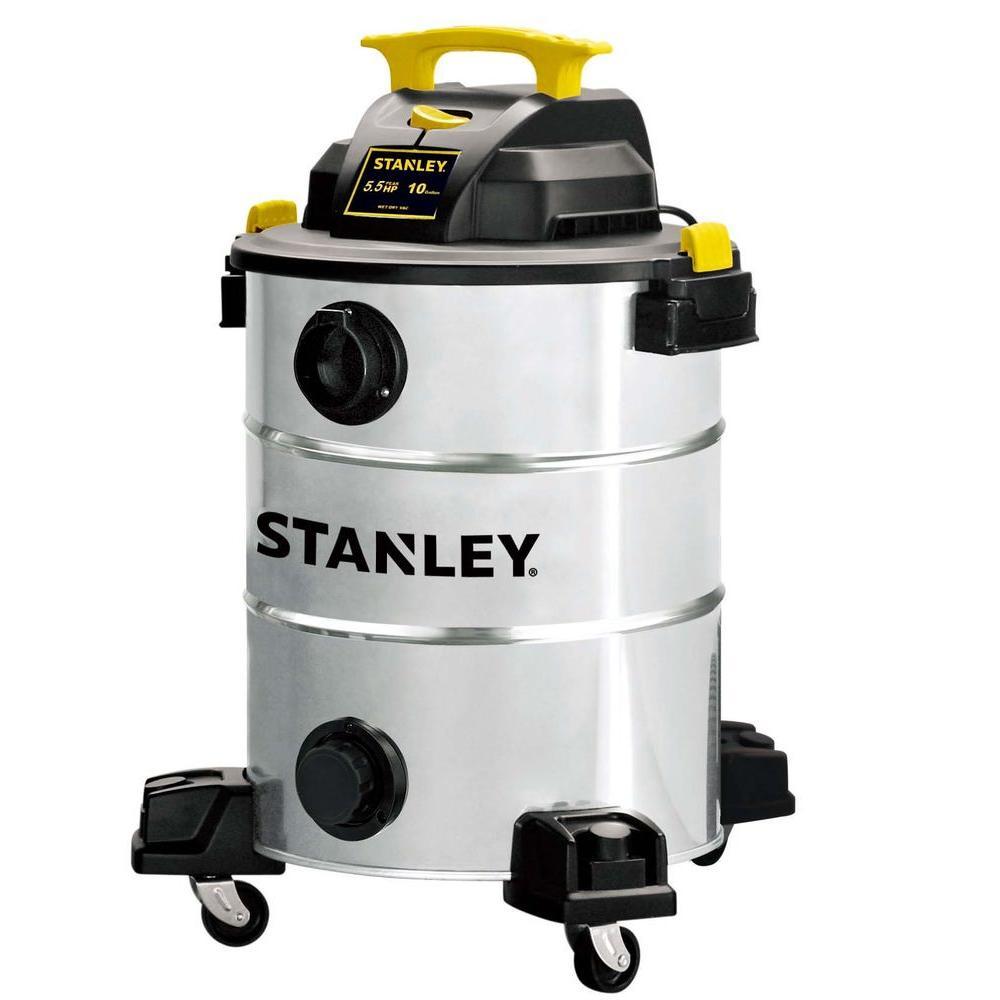 Stanley 10 Gal. Stainless Steel Wet/Dry Vacuum