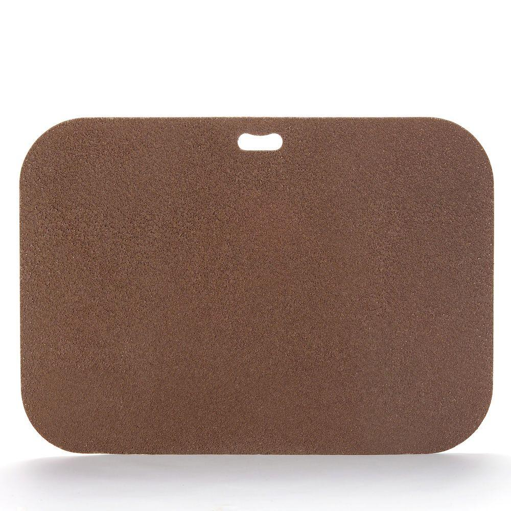 The Original Grill Pad 42 In X 30 Rectangular Earthtone Brown Deck Protector