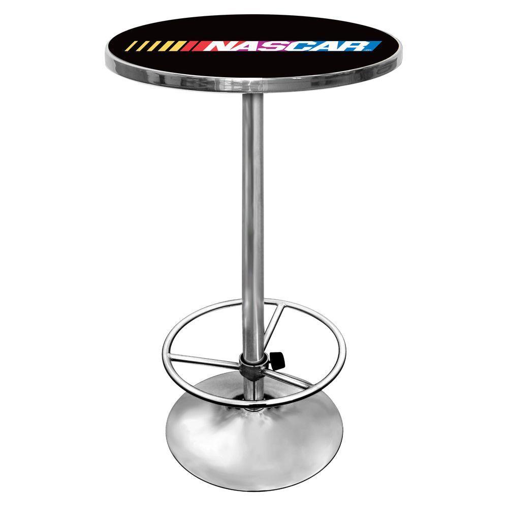 Trademark Nascar Black Pub/Bar Table NASCAR2000
