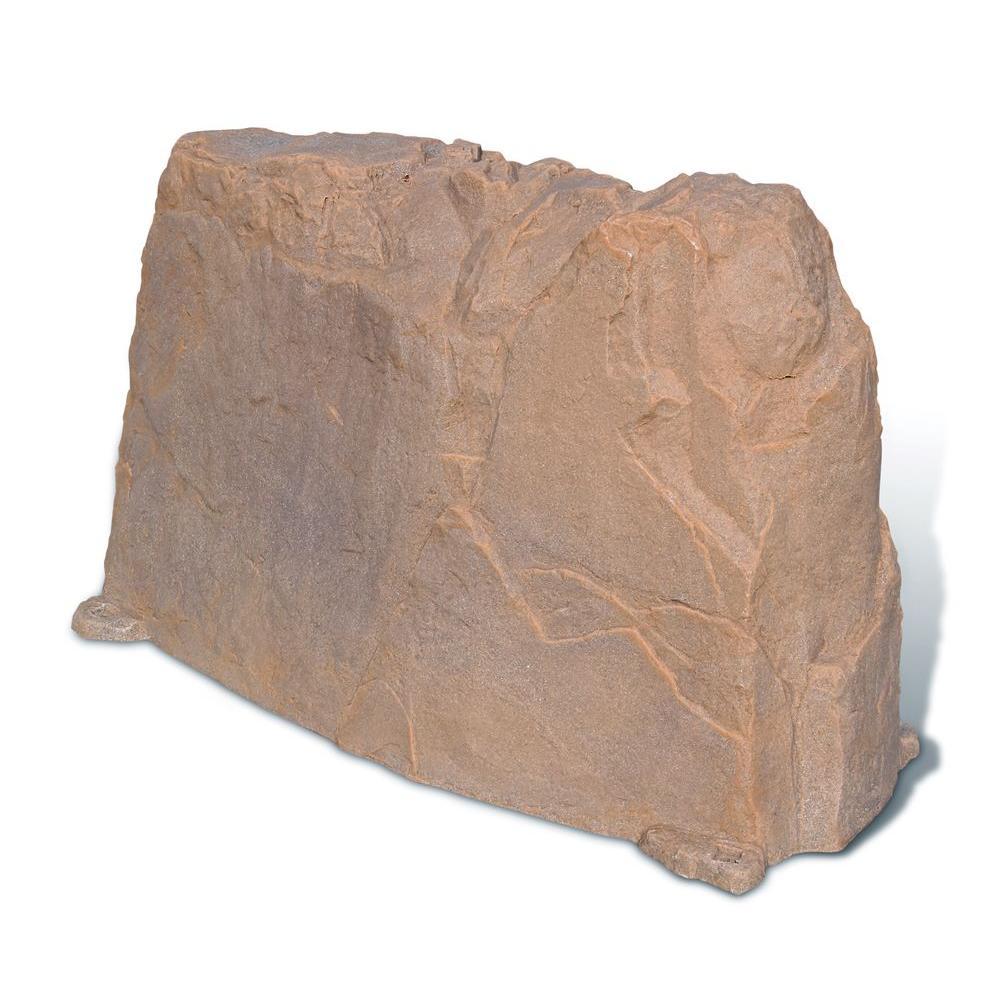 Dekorra 48 in. L x 20 in. W x 30 in. H Long Plastic Cover in Orange/Burgundy