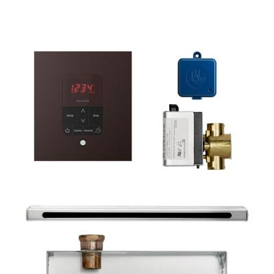 Mr Steam Butler Linear Package Square Oil Rubbed Bronze Butlerl1sorb The Home Depot