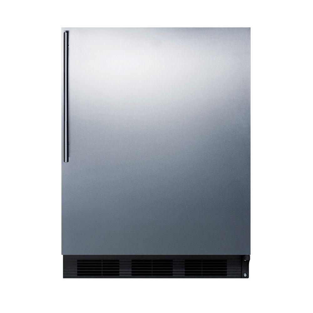 inch ft stainless case in steel black doors p mini refrigerator exterior ge the refrigerators cu door