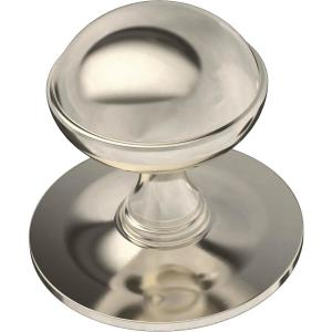 Classic Farmhouse 1-1/2 in. (38mm) Polished Nickel Cabinet Knob