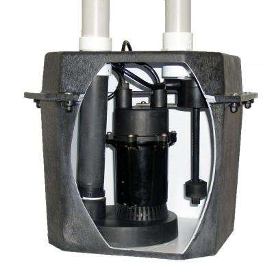 0.25 HP Pre-Plumbed Sink Tray System Sump Pump