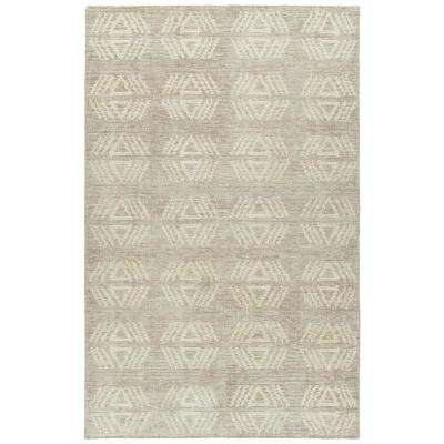 Solitaire Mink 5 ft. x 7 ft. 9 in Area Rug