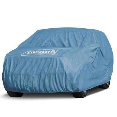 Spun-Bond PolyPro 95 GSM 189 in. x 76 in. x 61 in. Signature Blue Full Suv and Truck Cover