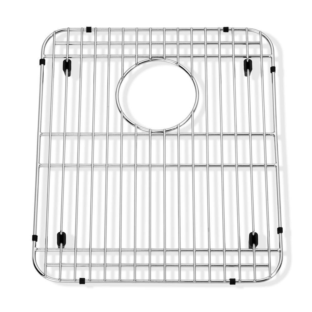 american standard prevoir 13 in  x 15 in  kitchen sink grid in stainless steel 8445 131500 075   the home depot american standard prevoir 13 in  x 15 in  kitchen sink grid in      rh   homedepot com