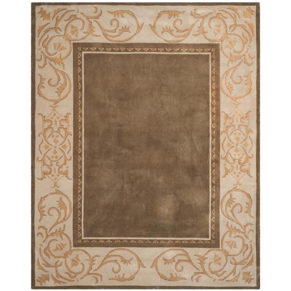 Total Performance Olive/Ivory 9 ft. x 12 ft. Area Rug
