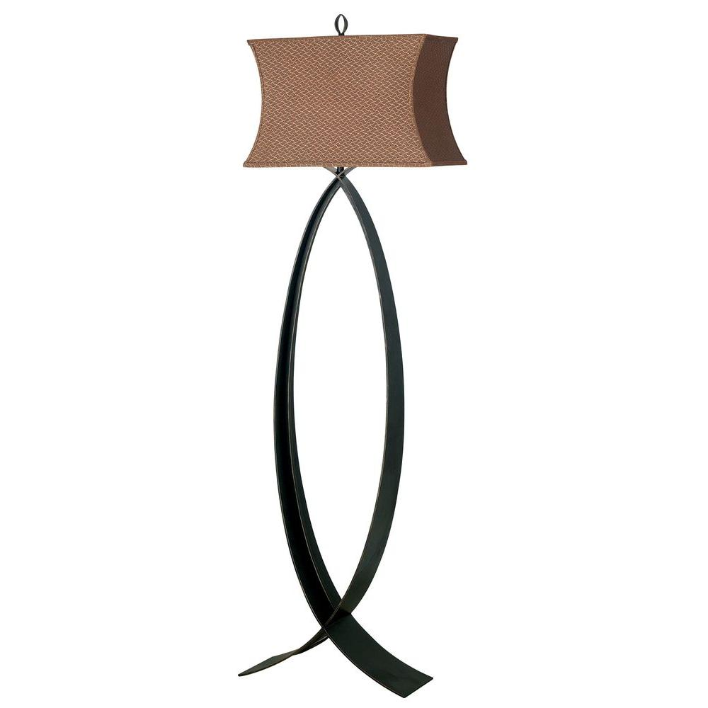 Kenroy Home Pisces 60 in. Oxidized Bronze Floor Lamp
