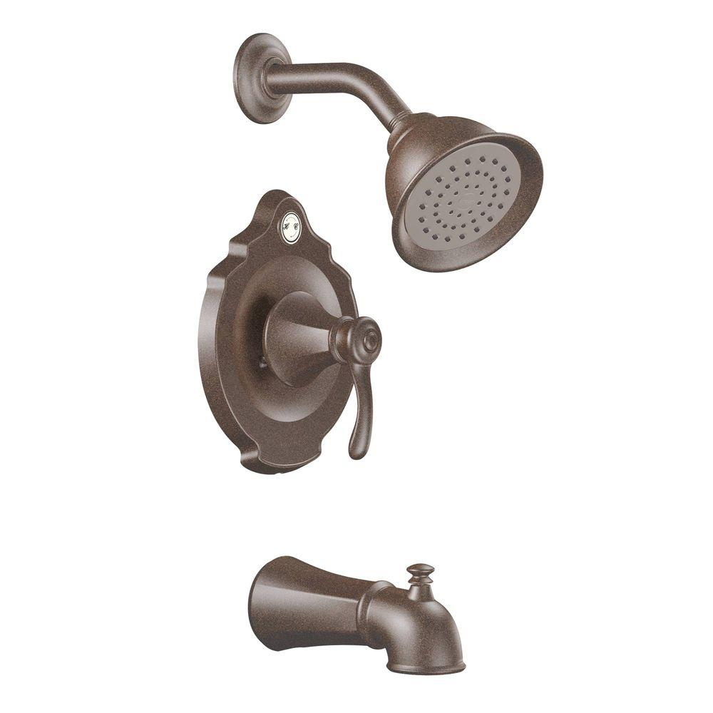 MOEN Vestige 1-Handle Tub & Shower Trim Kit in Oil-Rubbed Bronze (Valve not included)