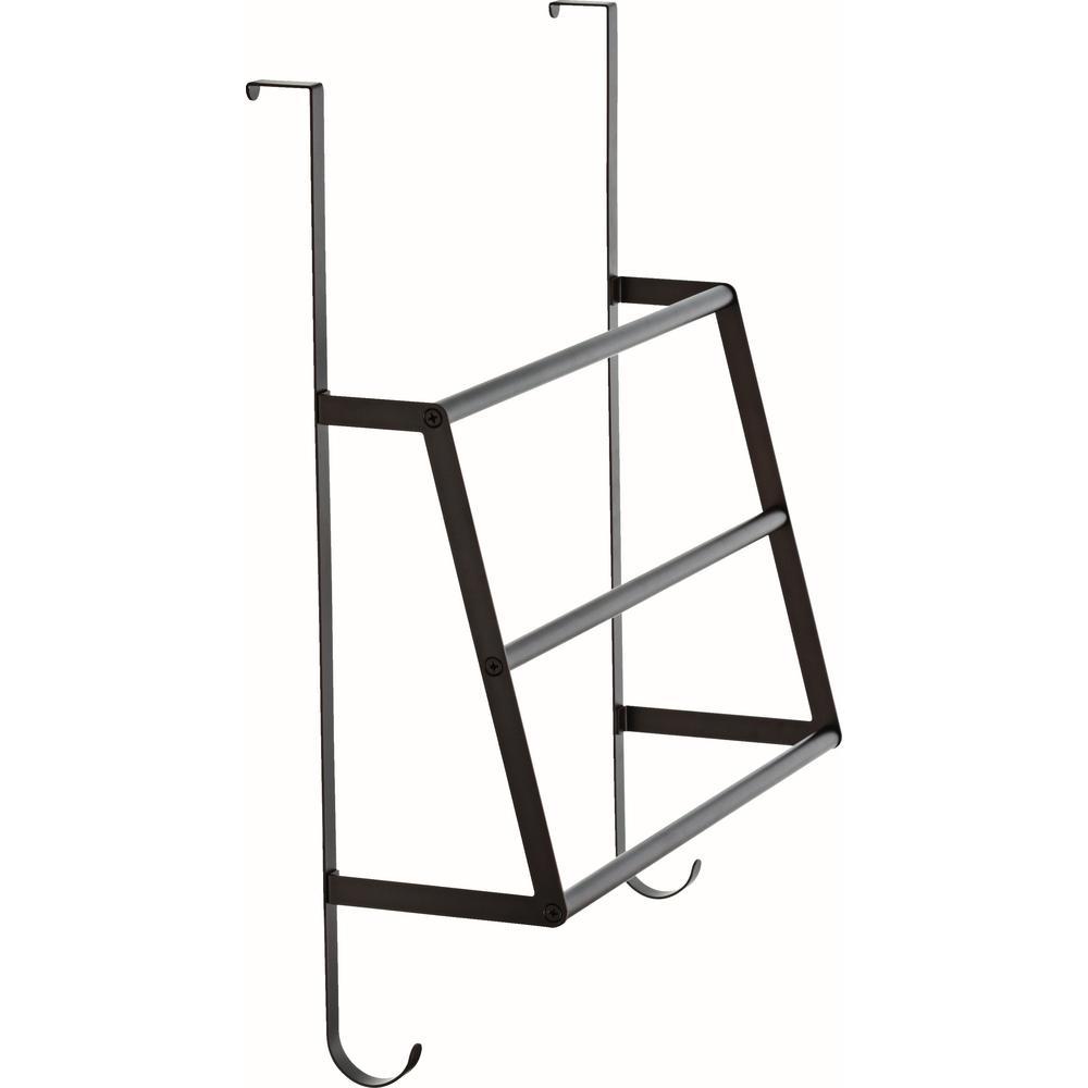 Delta Over The Door Triple Towel Rack In Venetian Bronze Fss02 Cbz