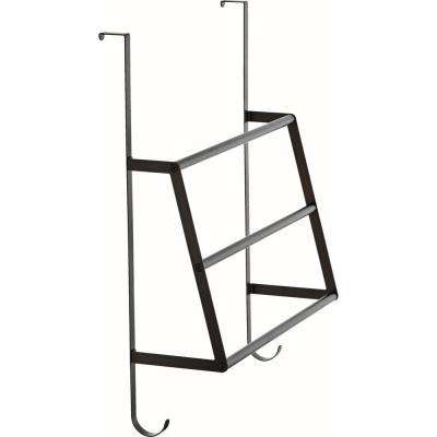 Over-the-Door Triple Towel Rack in SpotShield Venetian Bronze