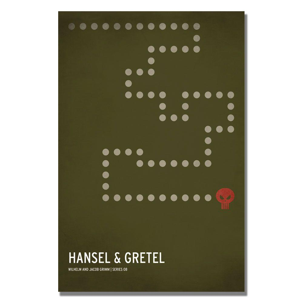 24 in. x 36 in. Hansel and Gretel Canvas Art