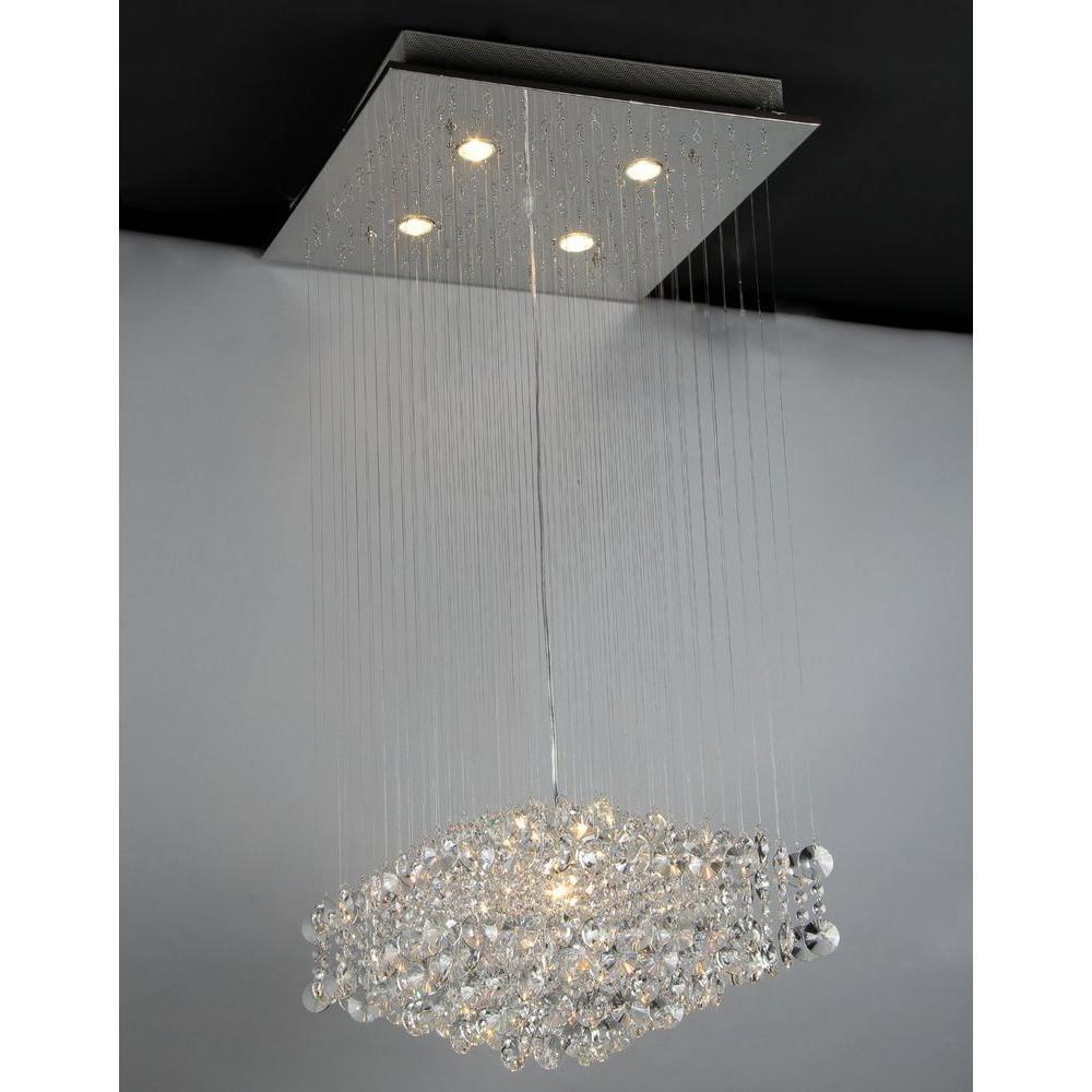 Warehouse of tiffany maria 5 light crystal chandelier with shade warehouse of tiffany maria 5 light crystal chandelier with shade arubaitofo Gallery