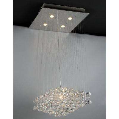Maria 5-Light Crystal Chandelier with Shade