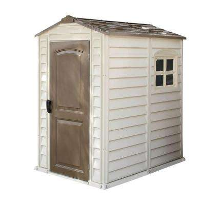 Store Pro 4 ft. x 6 ft. Shed with Floor