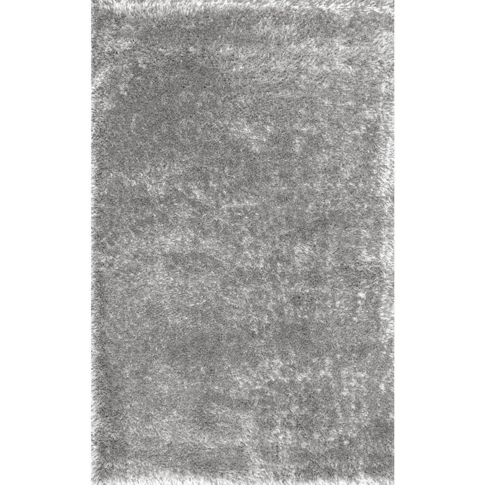 Nuloom Millicent Shaggy Grey 4 Ft X 6 Area Rug