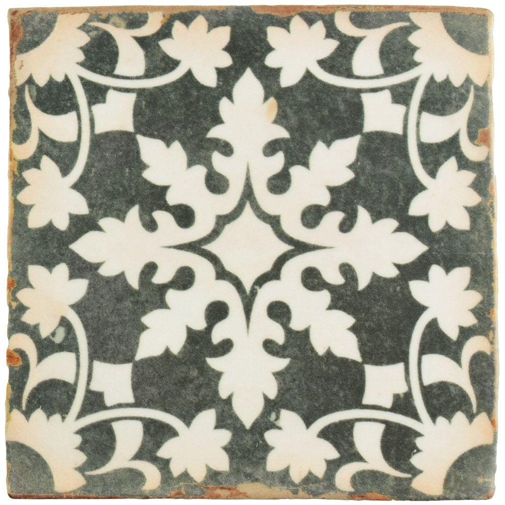 Archivo Zahra 4-7/8 in. x 4-7/8 in. Ceramic Floor and Wall