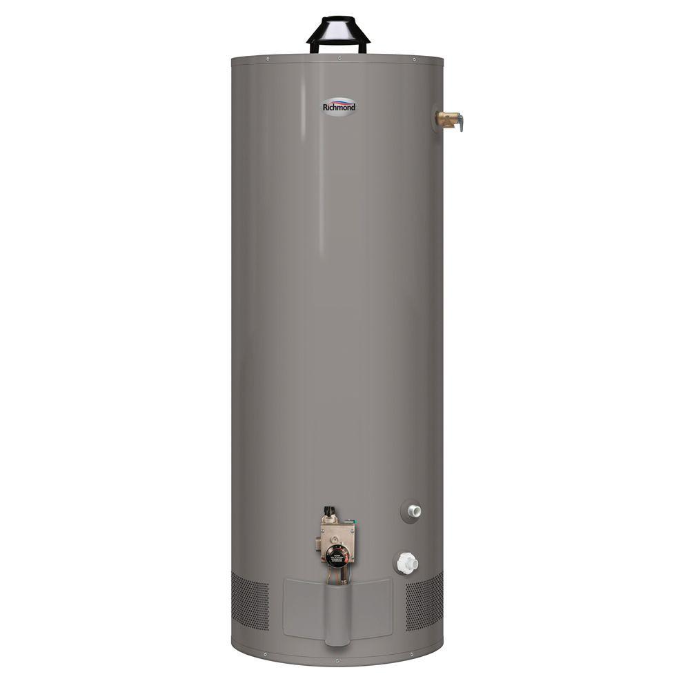 Richmond 29 gal. Tall 6 Year 32,000 BTU Natural/Liquid Propane Gas Mobile Home Atmospheric Water Heater-DISCONTINUED