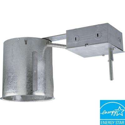 6 in. Metallic Compact Fluorescent Remodel Recessed Housing, IC