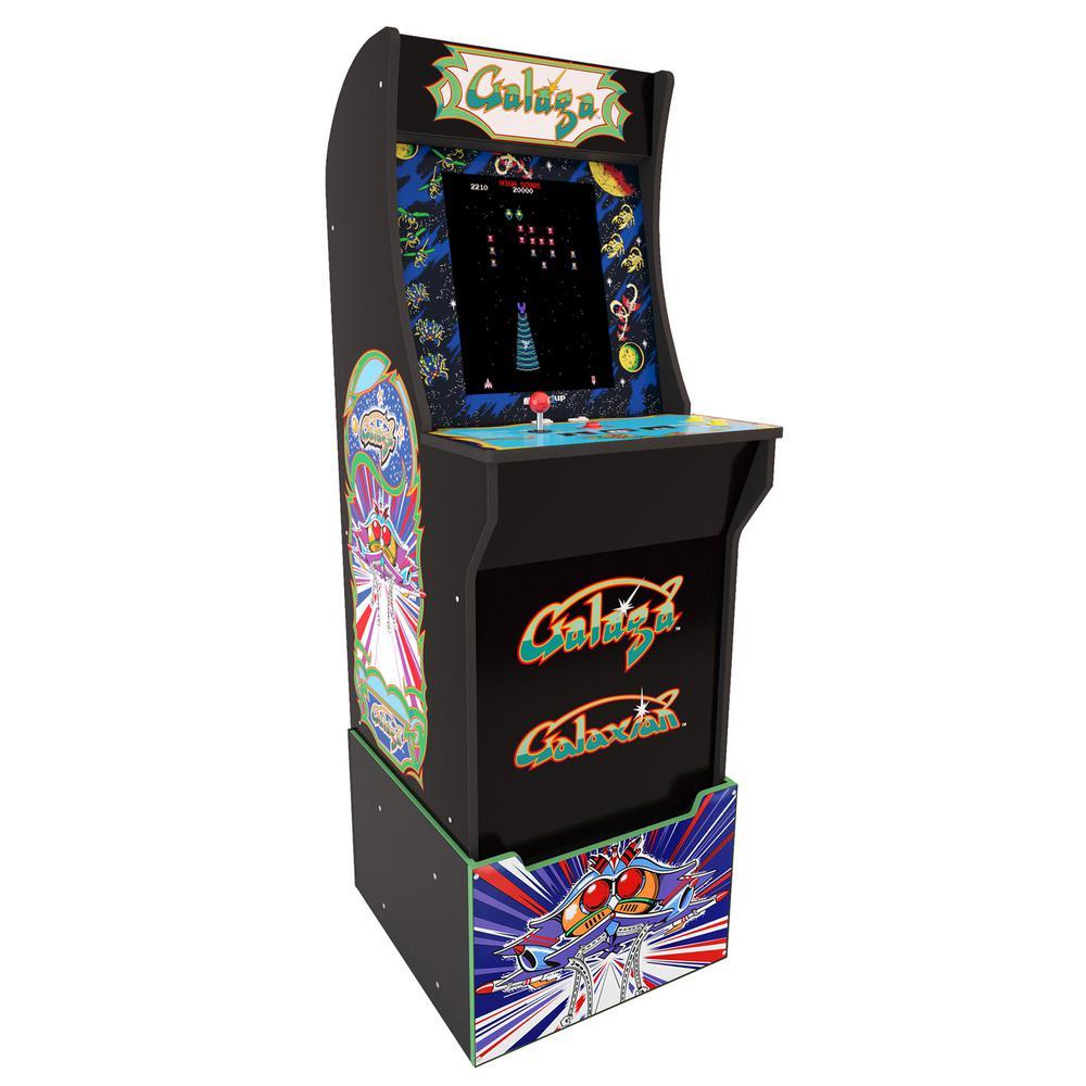 Galaga Arcade Cabinet with Riser