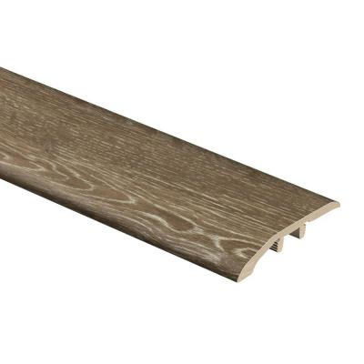Khaki Oak 5/16 in. Thick x 1-3/4 in. Wide x 72 in. Length Vinyl Multi-Purpose Reducer Molding
