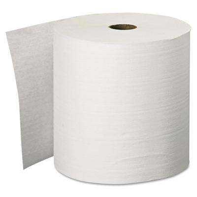 "Essential Plus Hard Roll Towels Natural 1.5"" Core, 8"" x 600 ft (12 Rolls per Carton)"