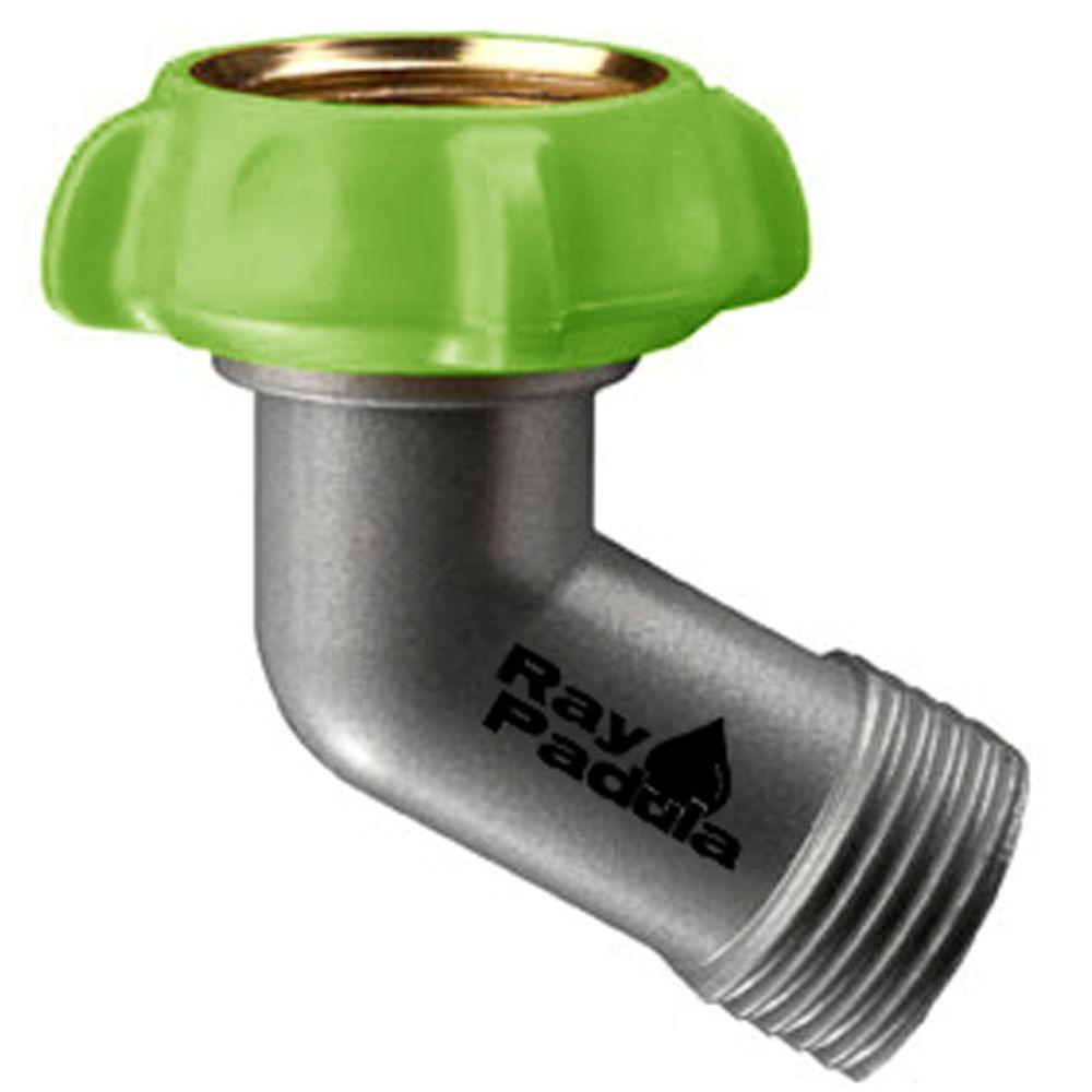 Metal Gooseneck Sprinkler Hose Adapter