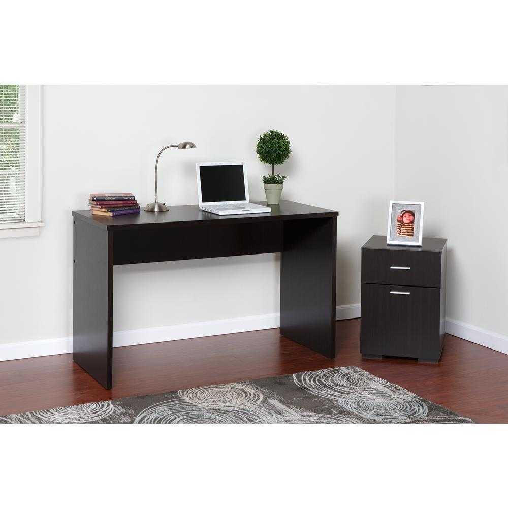 OneSpace Olivia 2 Drawer Espresso Lateral File Cabinet
