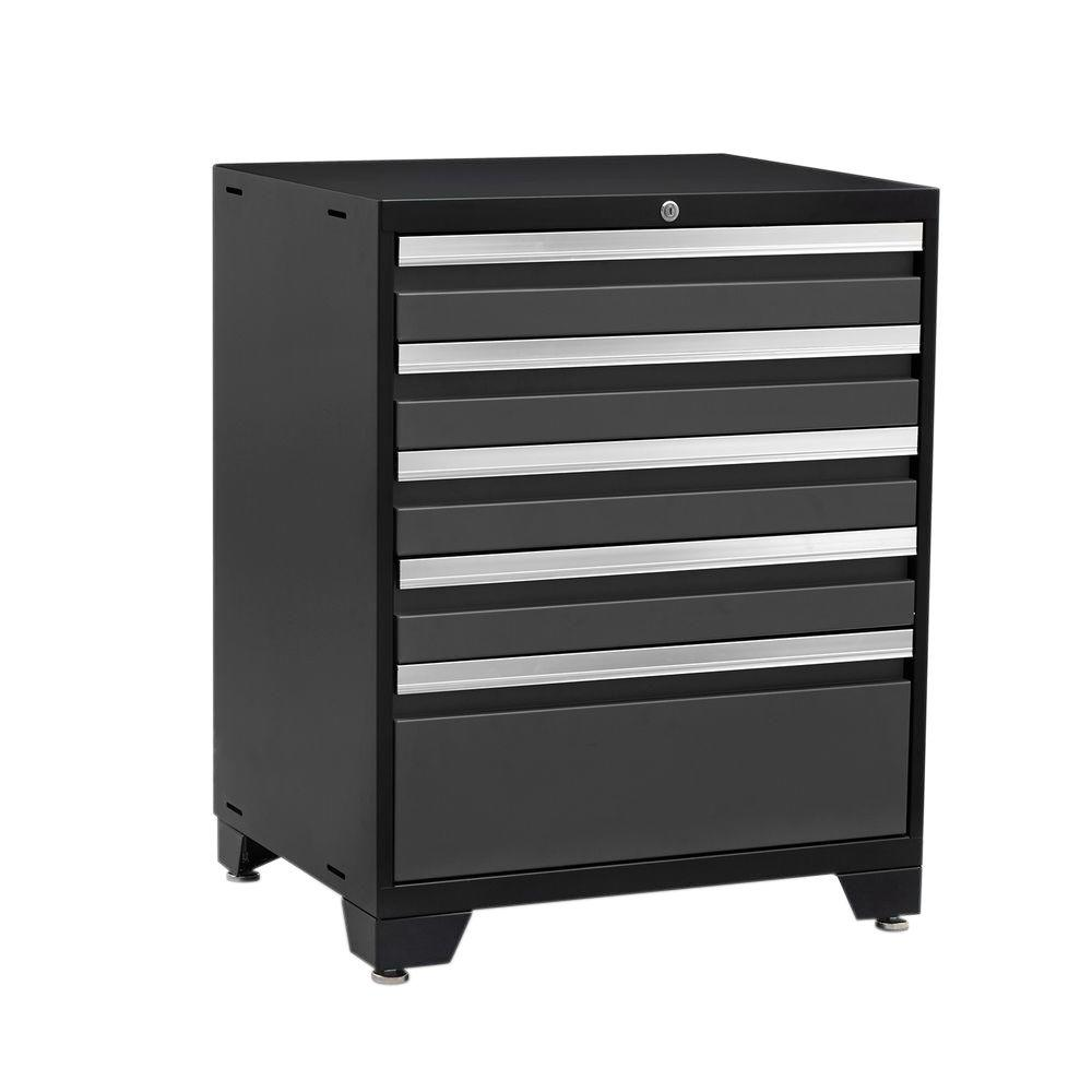 This Review Is From:Pro 3 Series 37 In. H X 28 In. W X 22 In. D 18 Gauge  Welded Steel 5 Drawer Tool Cabinet In Gray