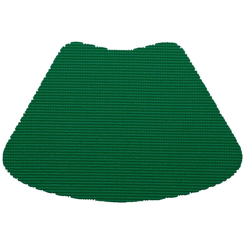 Kraftware Fishnet Wedge Placemat in Hunter Green (Set of 12) by Kraftware