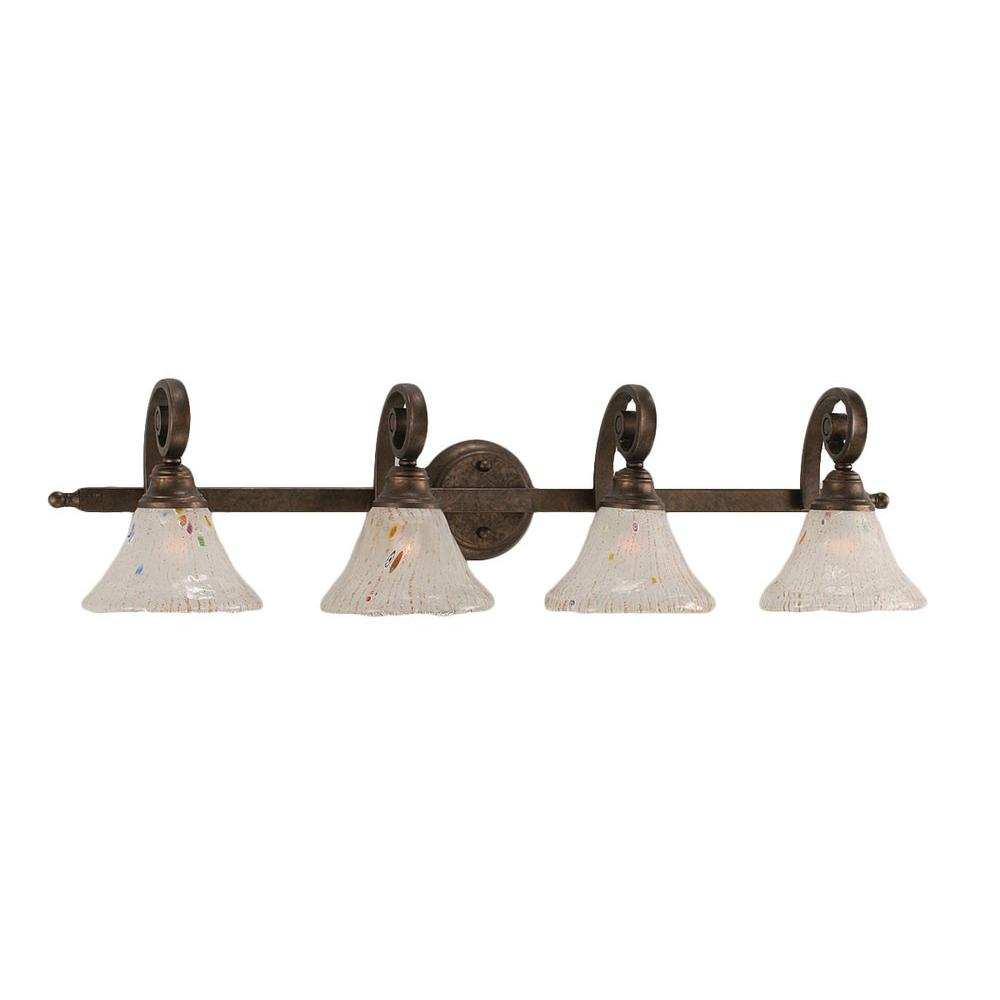 Filament Design Concord 4-Light Bronze Bath Vanity Light