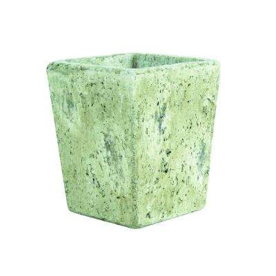 5-1/2 in. Tapered Square Cement Vase