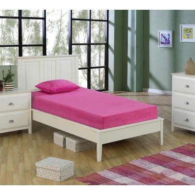Kids Pink 5 in. Double-Size Memory Foam Mattress with Comfort Foam