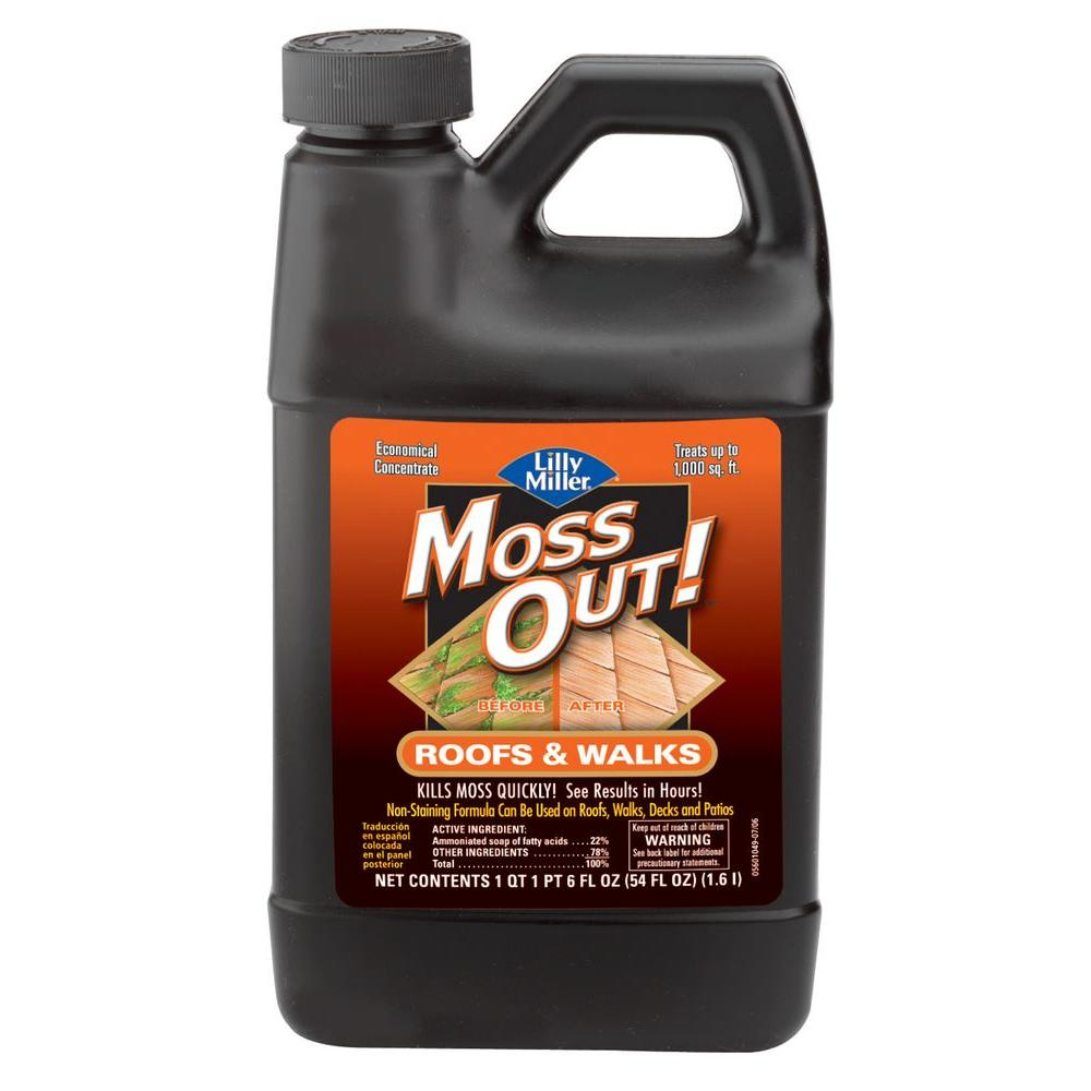moss out 54 oz moss out for roofs and structures - How To Kill Moss On Roof