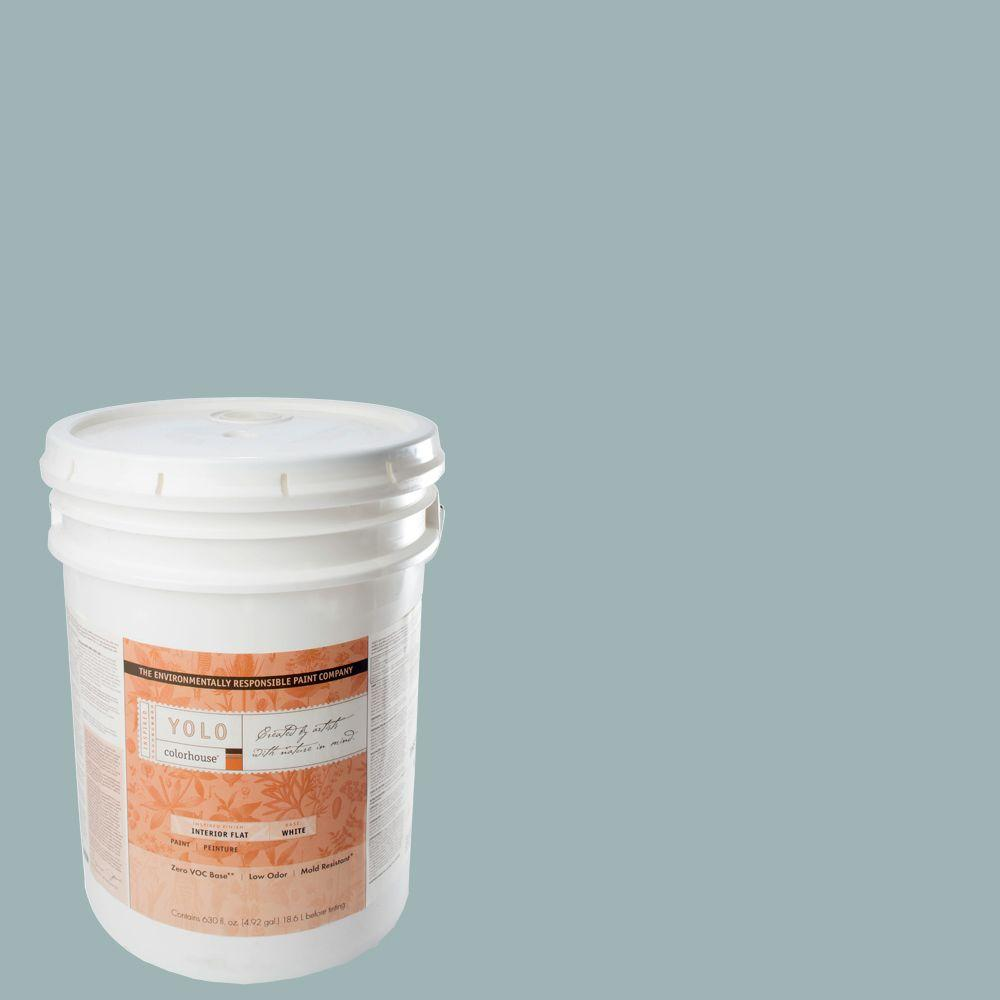 YOLO Colorhouse 5-gal. Water .04 Flat Interior Paint-DISCONTINUED