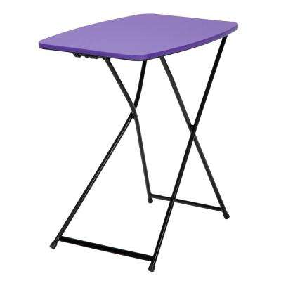 Purple Adjustable 2-Pack Folding Tailgate Table