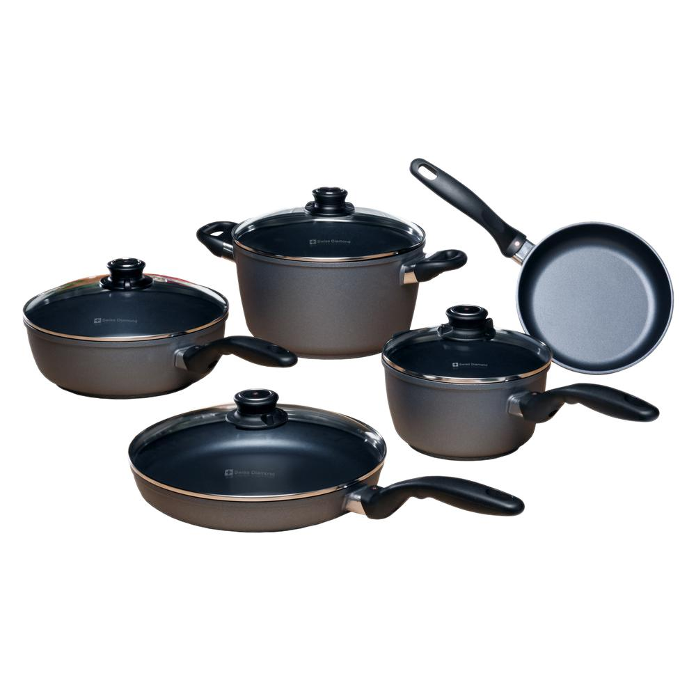 Classic Series 9-Piece Kitchen Essentials Cookware Set
