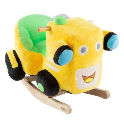 Kids Plush Rocking Train