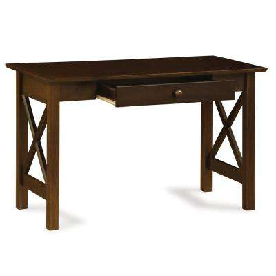 Lexi Walnut Desk with Drawer