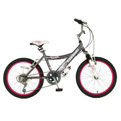 Kid's Bike, 20 in. Wheels, 12 in. Frame, Girl's Bike in Grey