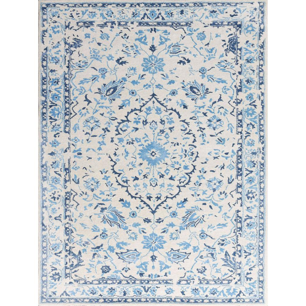 Ariantana Blue 2 ft. x 3 ft. Rectangle Area Rug