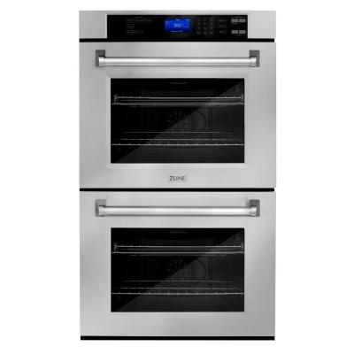 ZLINE 30 in. Professional Electric Double Wall Oven in Stainless Steel