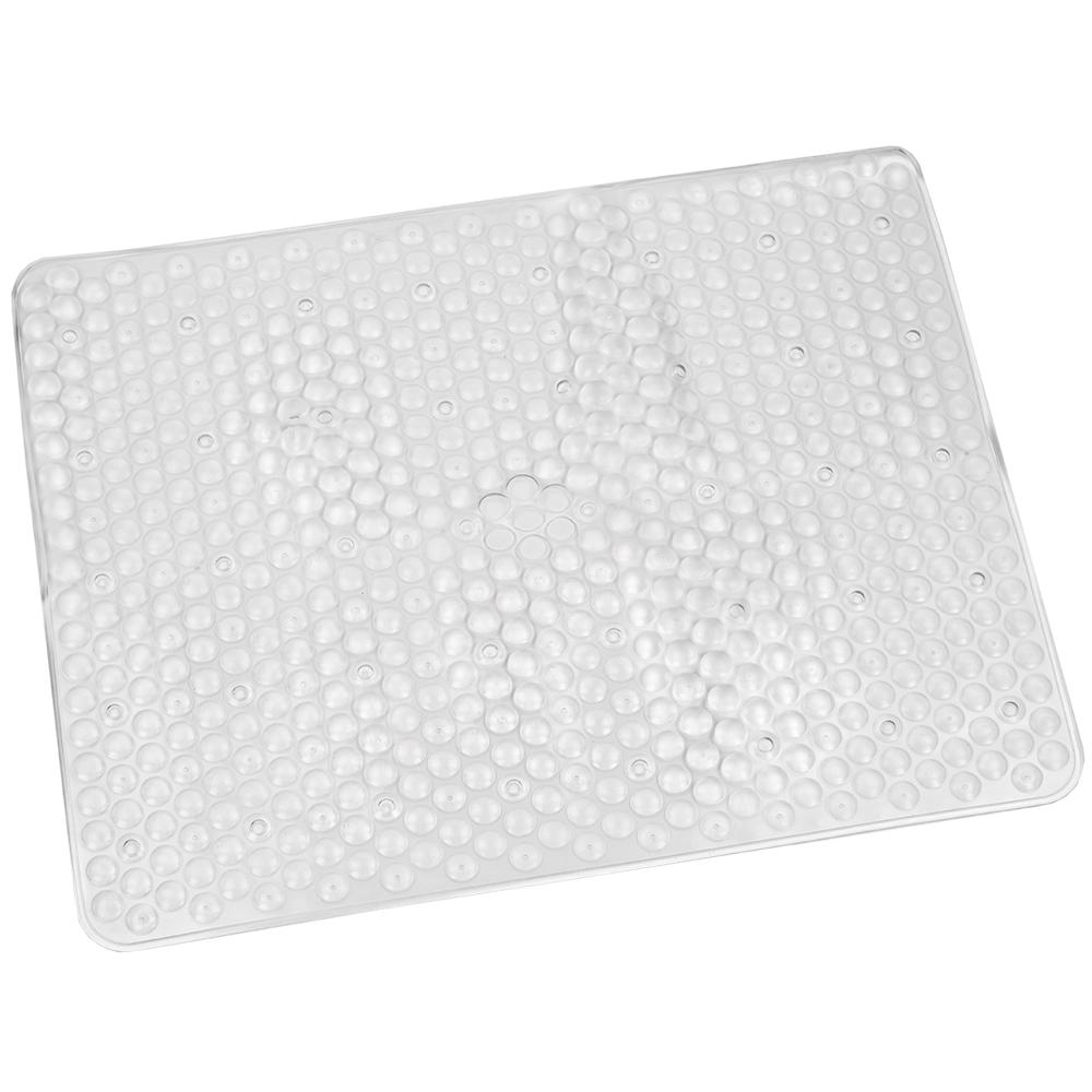 Home Basics Clear Rubber Sink Mat