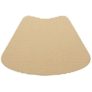Kraftware Fishnet Wedge Placemat in Tan (Set of 12) by Kraftware