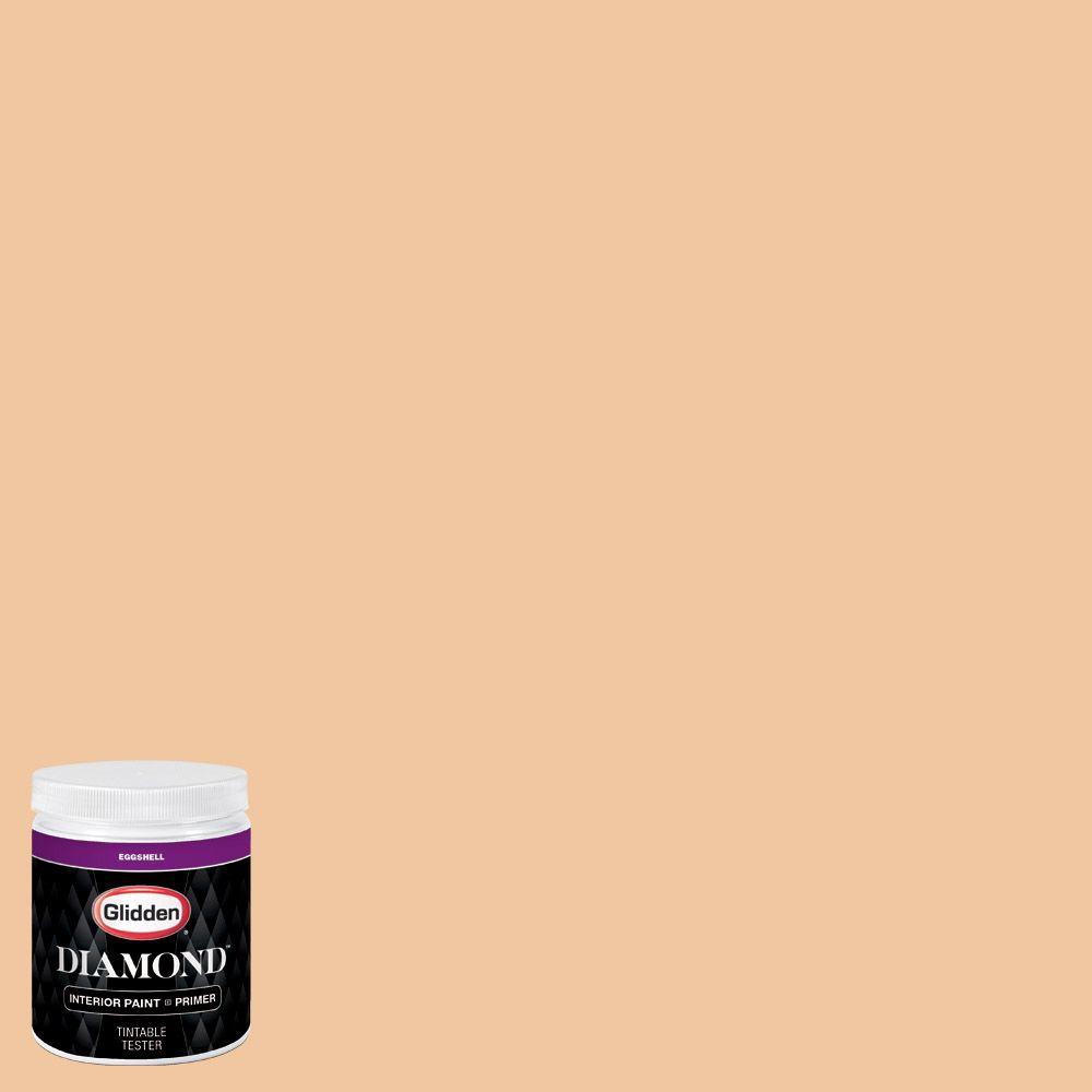 Glidden Bathroom Paint: Glidden Diamond 8 Oz. #HDGO45U Glazed Peach Eggshell