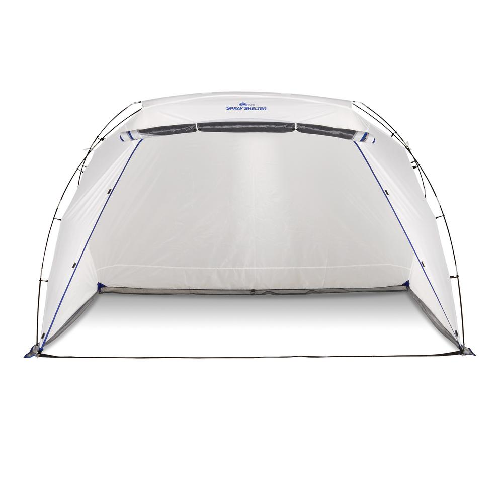 Spray Shelter 8.5 ft. x 6 ft. White Polyester