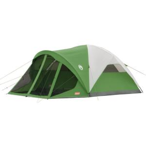 Click here to buy Coleman Evanston 6-Person Screened Modified Dome Tent by Coleman.